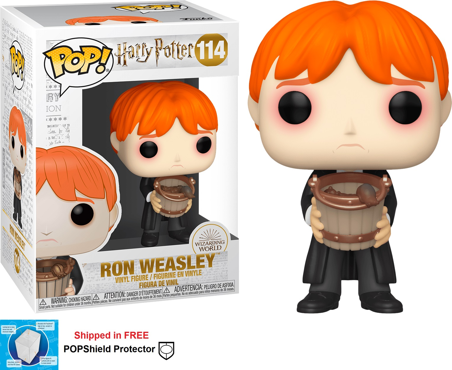 Funko POP Harry Potter Ron Weasley - #114