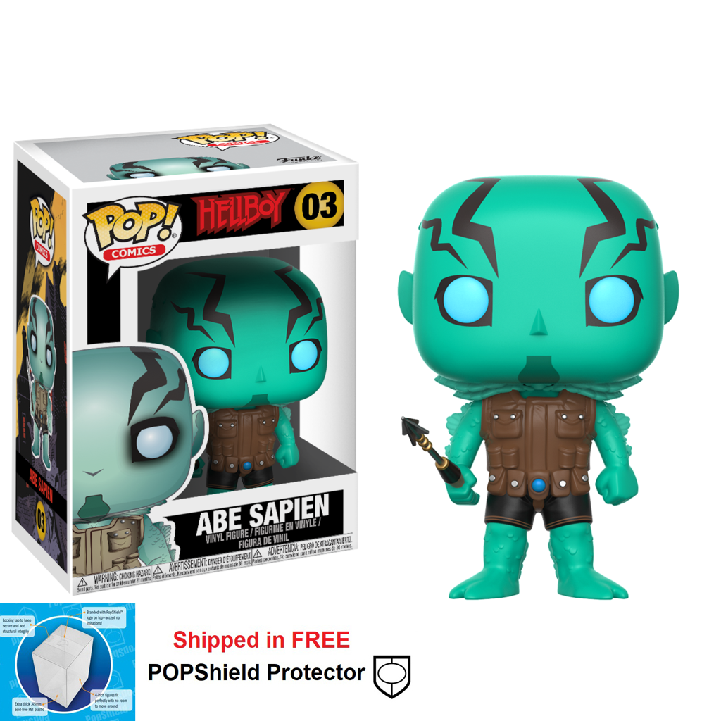 Funko POP Hellboy Abe Sapien Figure - #03