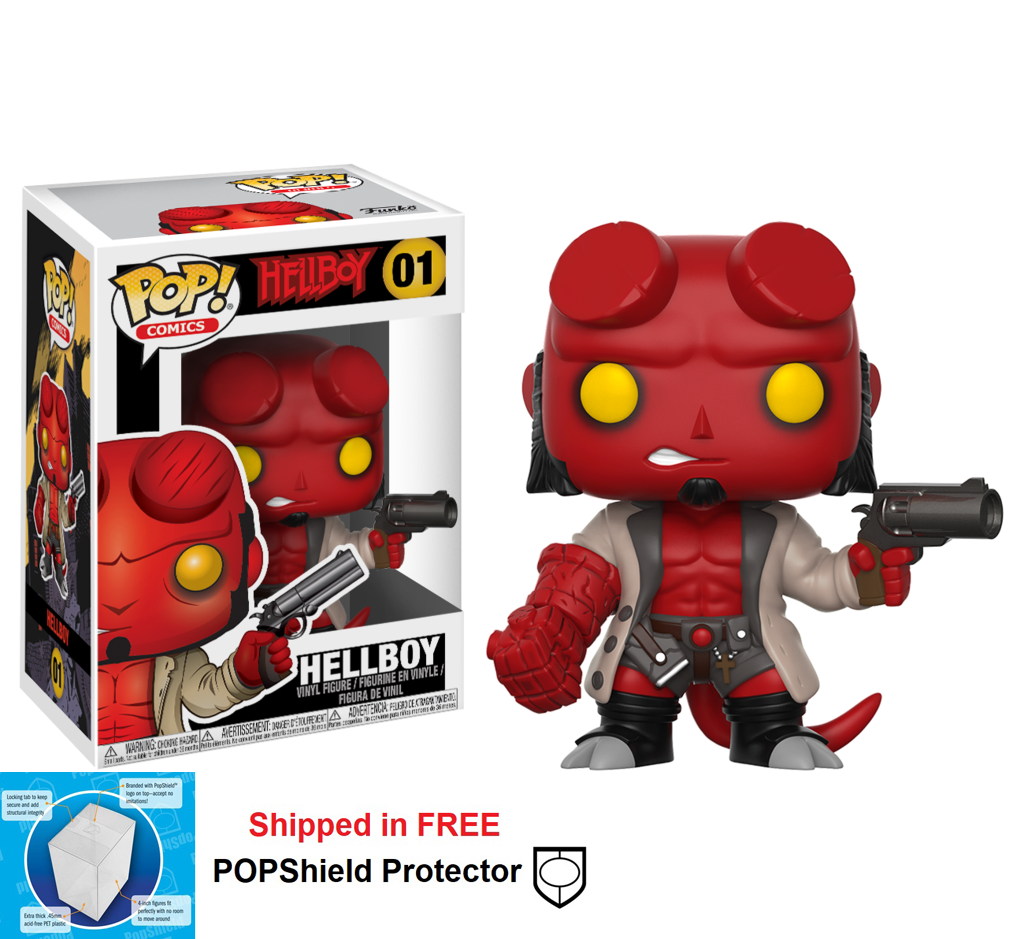 Funko POP Hellboy Figure - #01