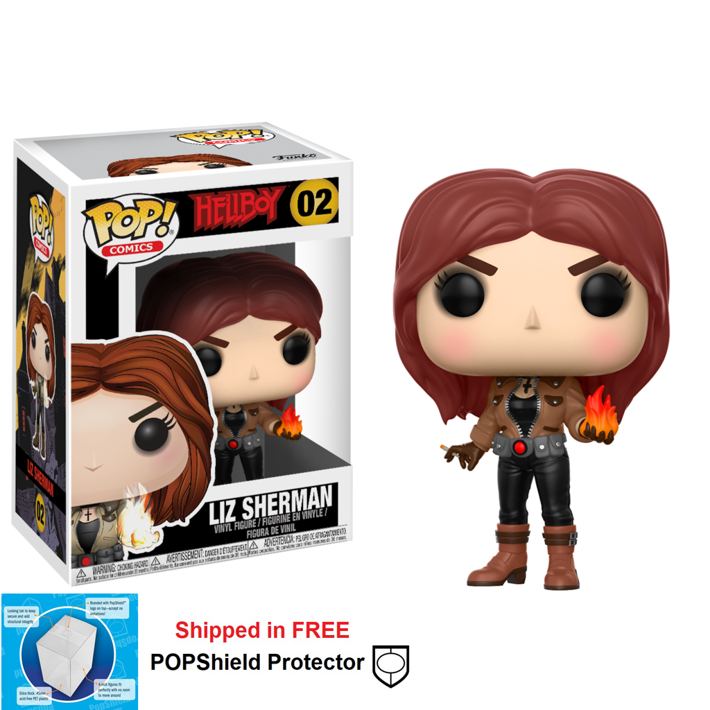 Funko POP Hellboy Liz Sherman Figure - #02