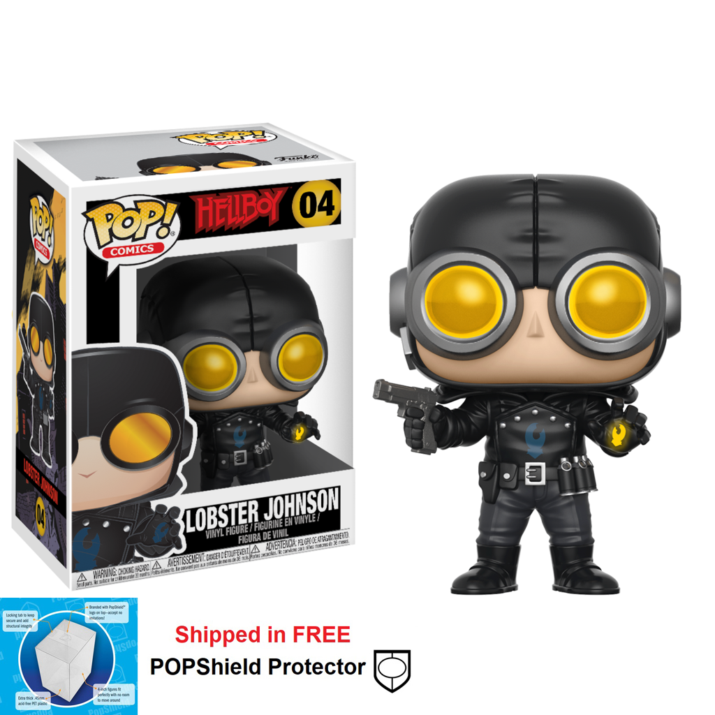 Funko POP Hellboy Lobster Johnson - #04