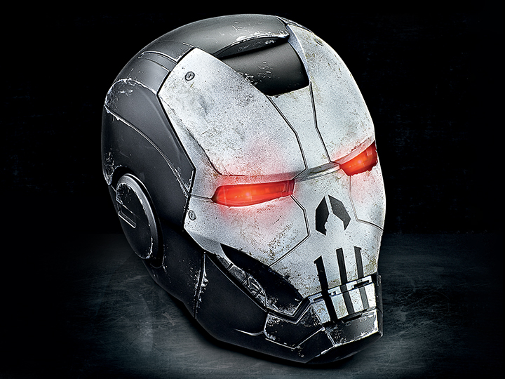 Hasbro Marvel Legends Punisher War Machine Wearable Helmet