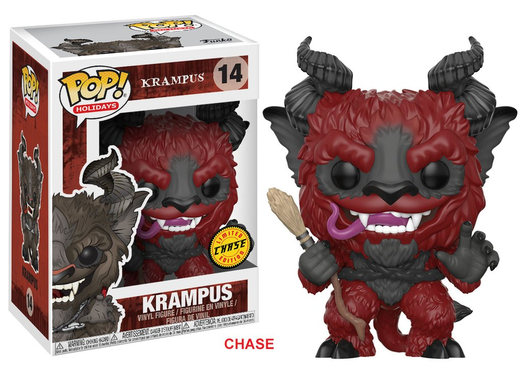 Funko POP Holiday Krampus Figure - #14 Chase Variant