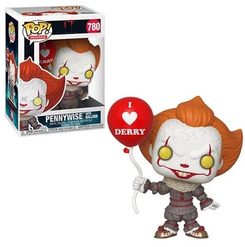 Funko POP Movie It Chapter 2 Pennywise w/Balloon - #780