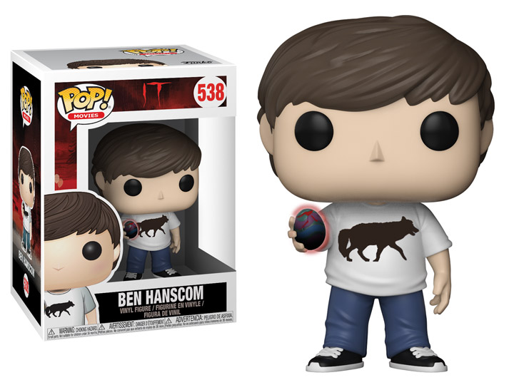 Funko POP Movie It Ben Hanscom Figure - #538