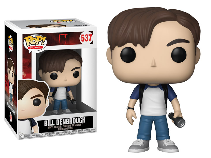 Funko POP Movie It Bill Denbrough Figure - #537