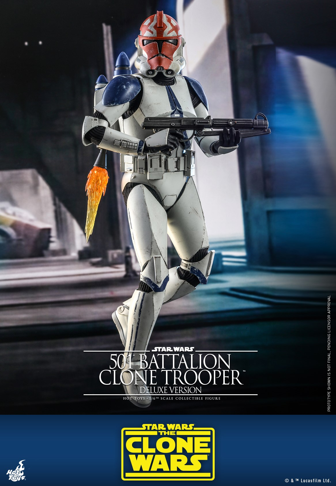 Pre-Order Hot Toys Star Wars 501st Battalion Clone Trooper DLX