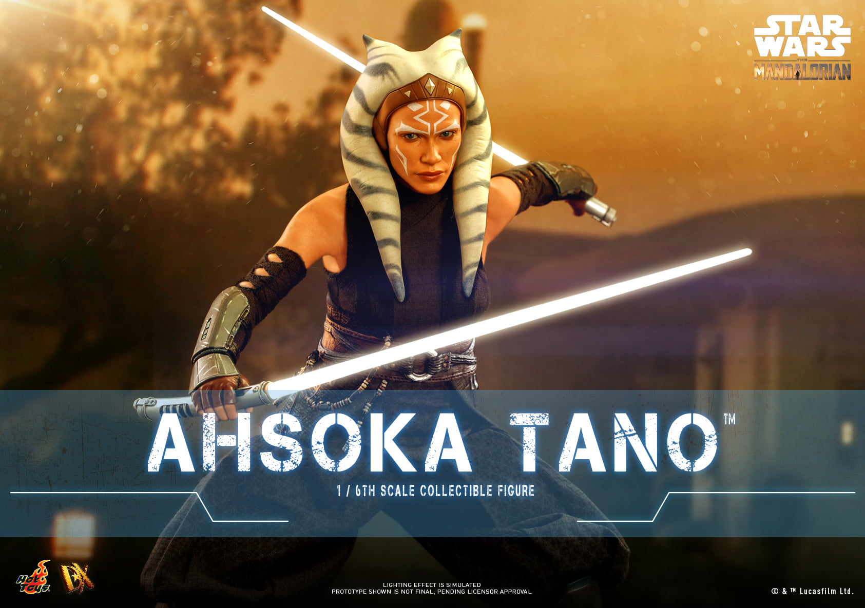 Pre-Order Hot Toys Star Wars Ahsoka Tano Sixth Scale Figure