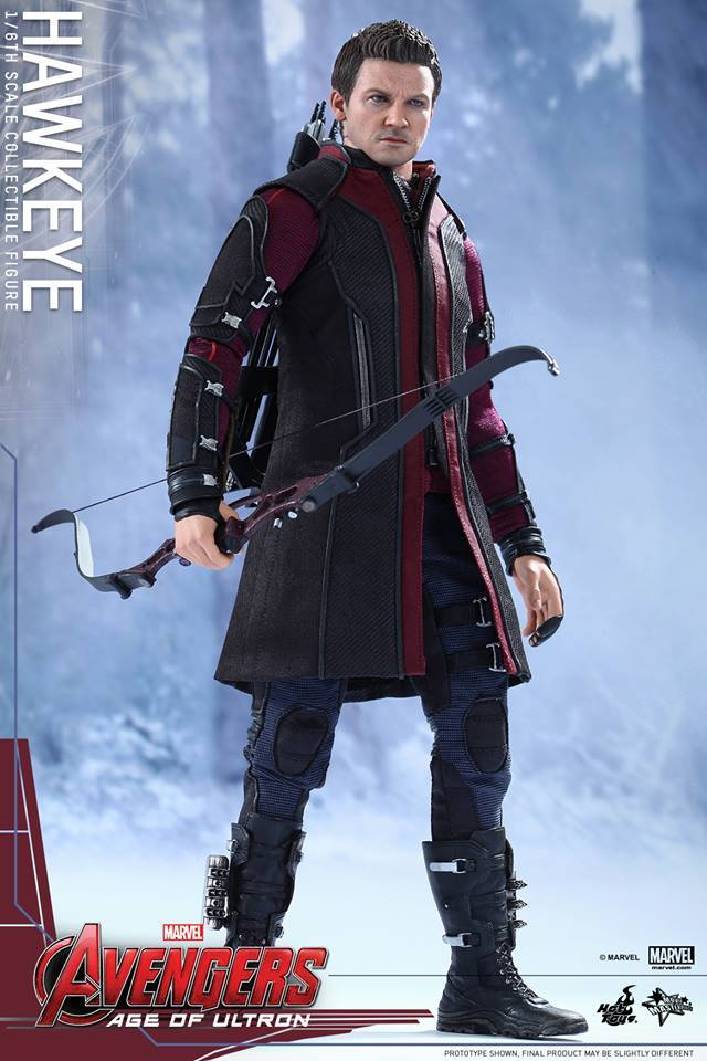 Hot Toys Marvel Avengers Age of Ultron Hawkeye Figure