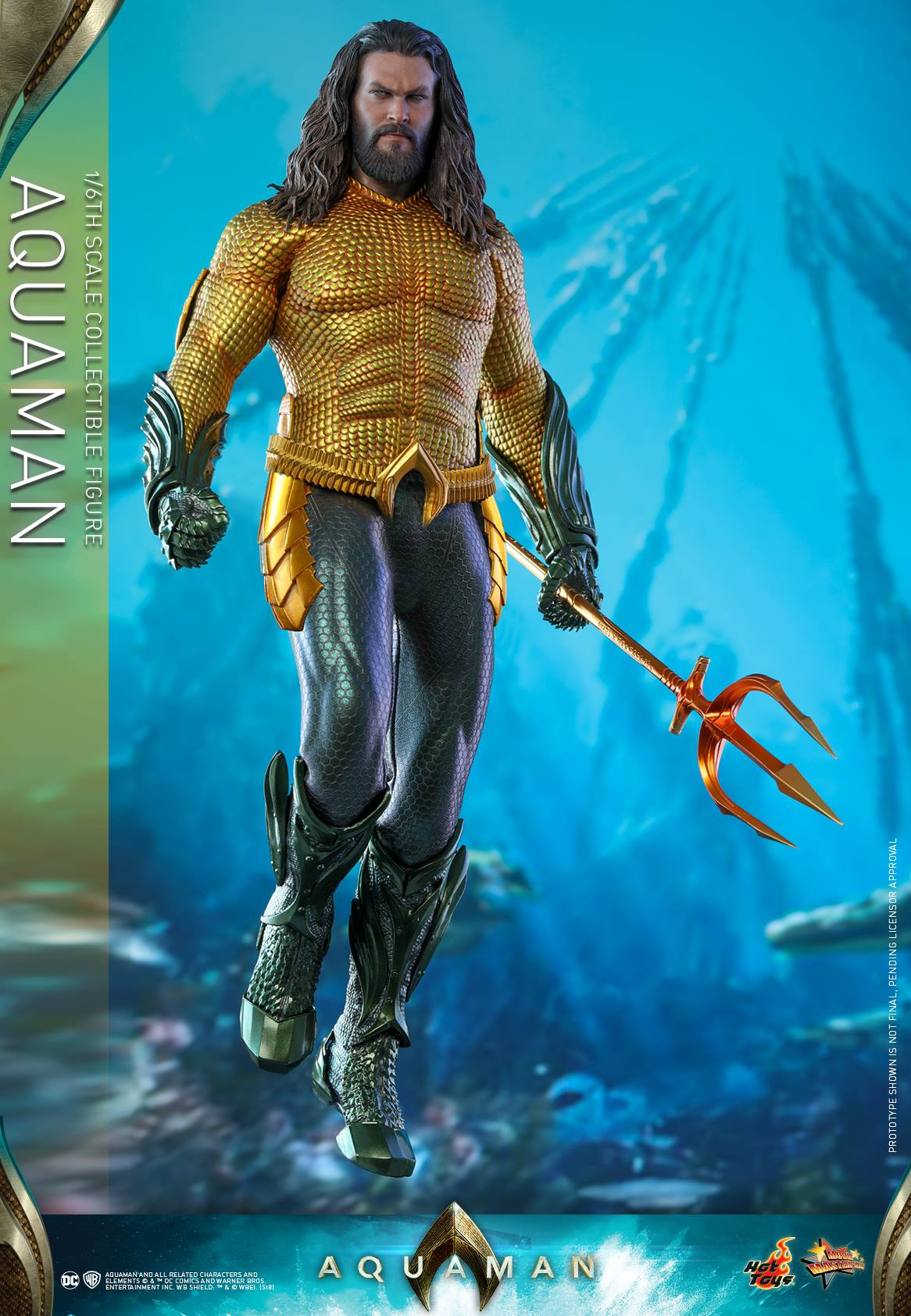 Pre-Order Hot Toys DC Comics Aquaman Movie Sixth Scale Figure