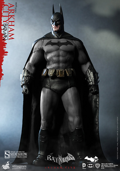 Hot Toys DC Comics Arkham City Batman Sixth Scale Figure