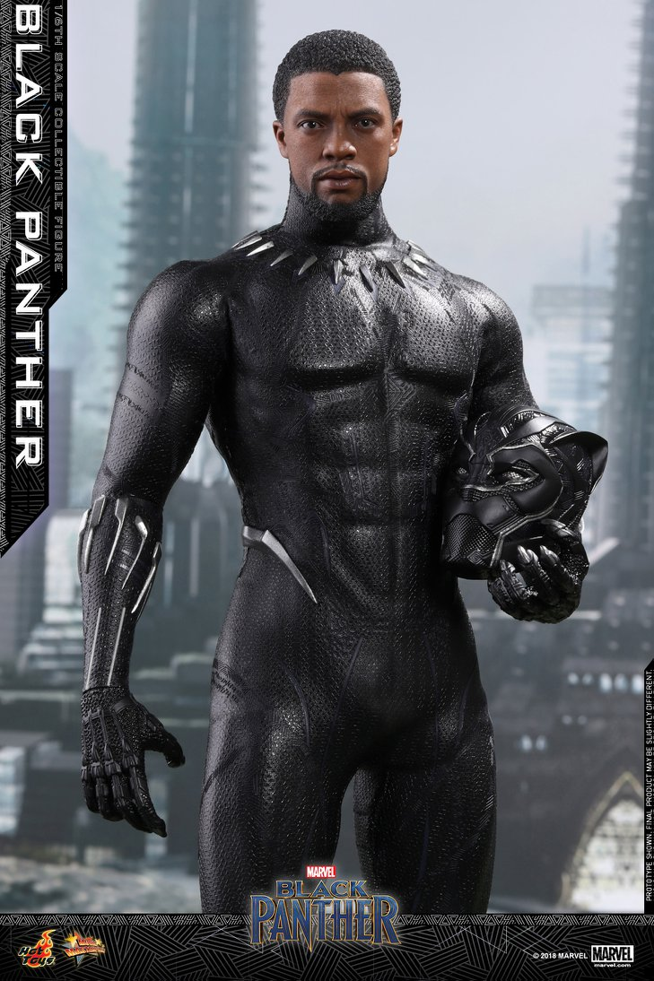 Hot Toys Marvel Black Panther Sixth Scale Figure