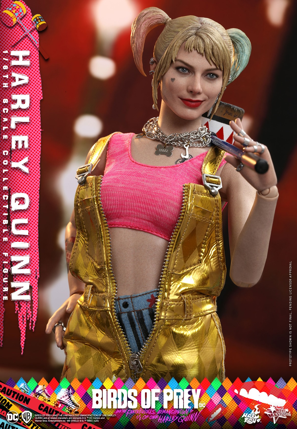 Pre-Order Hot Toys DC Comics Harley Quinn Birds of Prey Figure