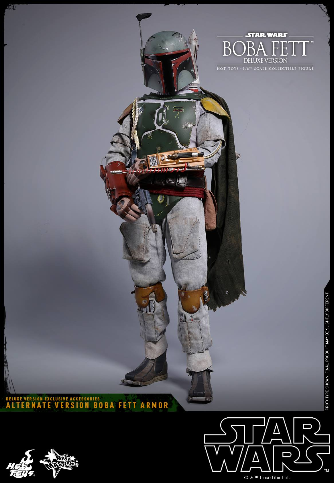 Hot Toys Star Wars Boba Fett ESB Deluxe Sixth Scale Figure
