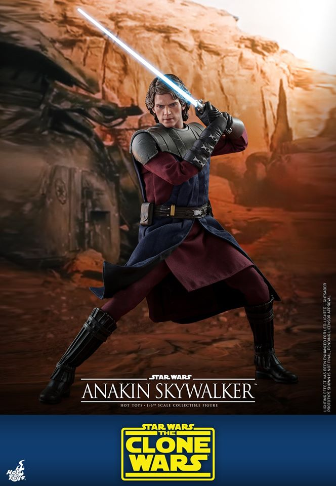 Pre-Order Hot Toys Star Wars Anakin Skywalker Sixth Scale Figure