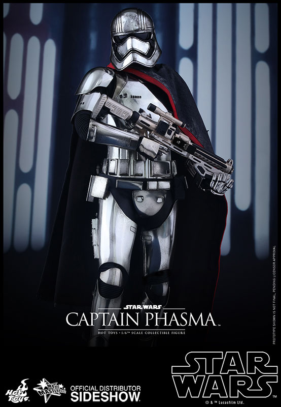 Hot Toys Star Wars Captain Phasma Sixth Scale Figure
