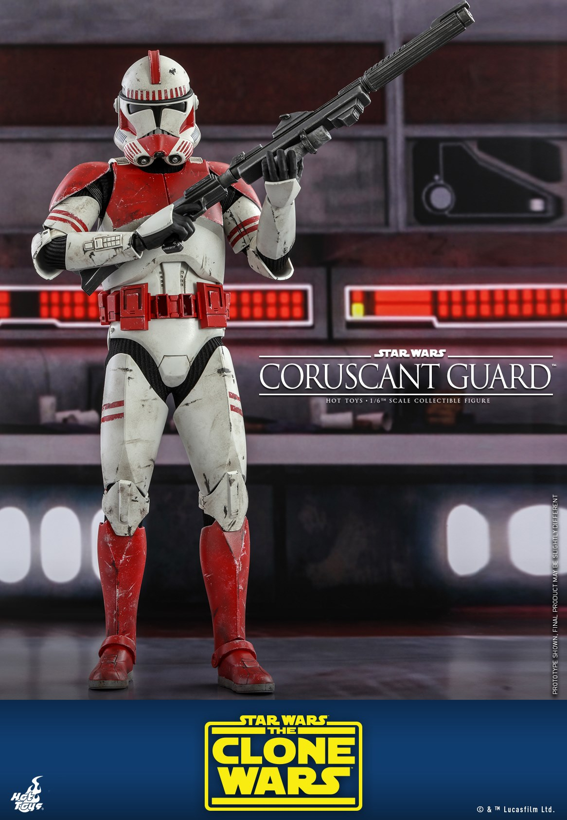Pre-Order Hot Toys Star Wars Coruscant Guard Sixth Scale Figure