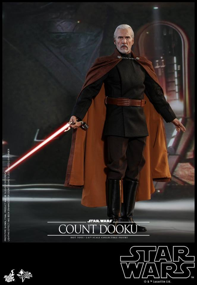 Pre-Order Hot Toys Star Wars Count Dooku Sixth Scale Figure
