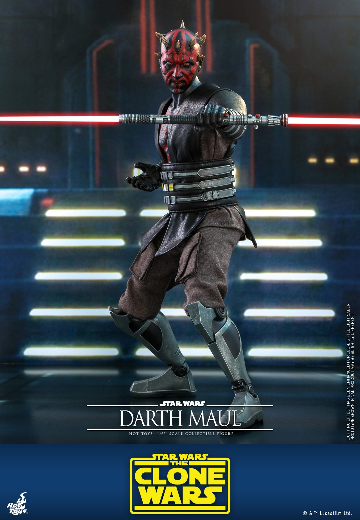 Pre-Order Hot Toys Star Wars Darth Maul Sixth Scale Figure