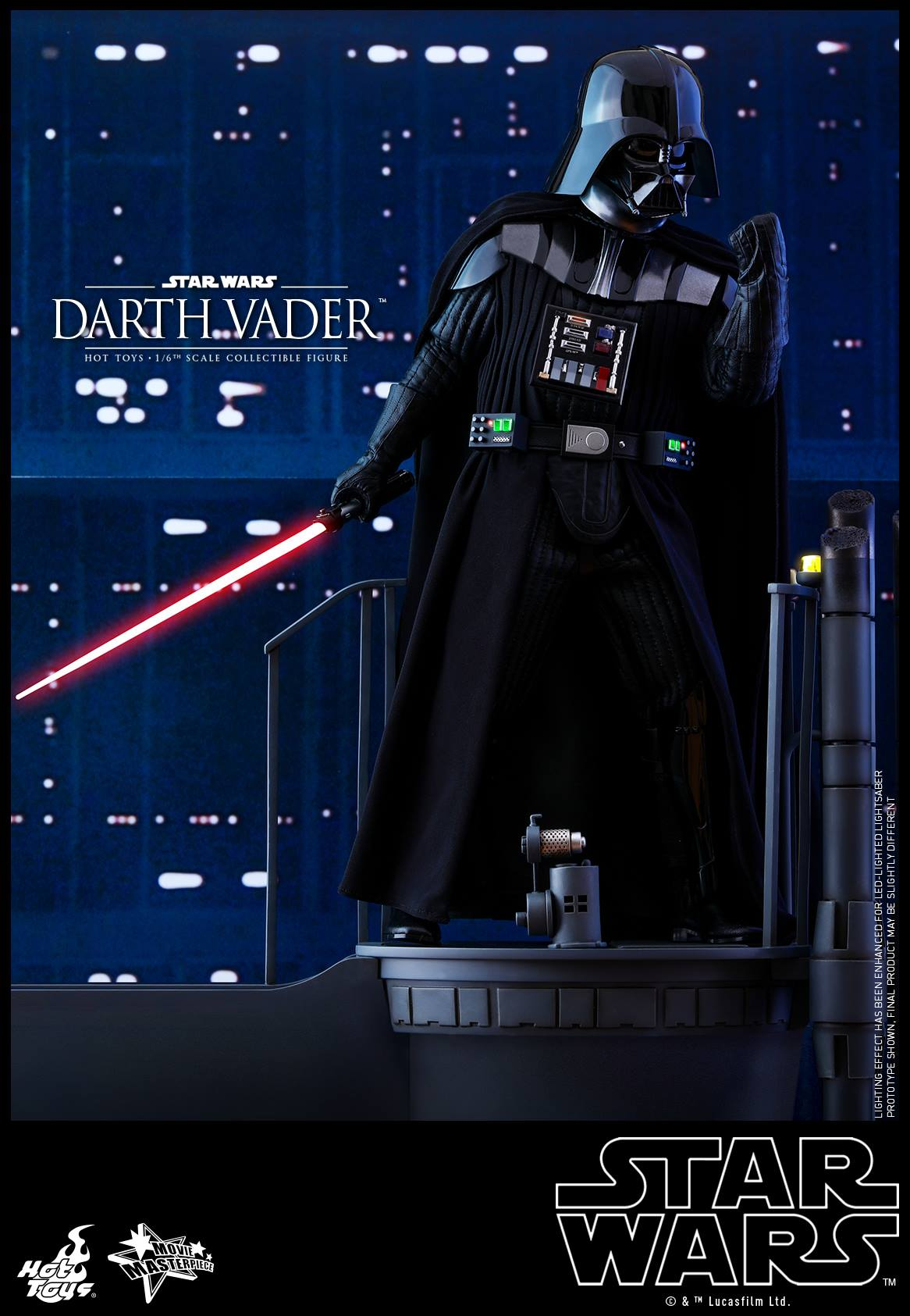 Pre-Order Hot Toys Star Wars Darth Vader ESB Sixth Scale Figure
