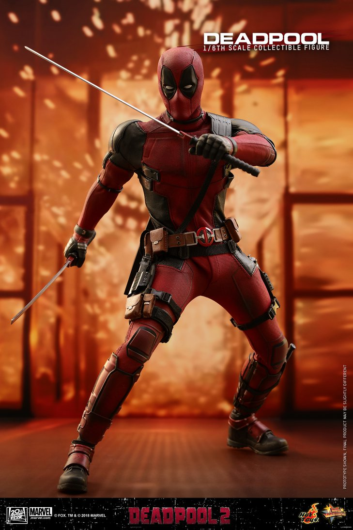 Hot Toys Marvel Deadpool 2 Sixth Scale Figure