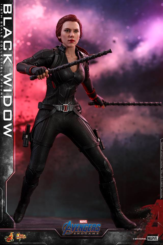 Hot Toys Marvel Avengers End Game Black Widow Sixth Scale Figure