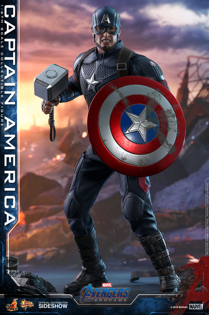 Pre-Order Hot Toys Marvel Avengers End Game Captain America