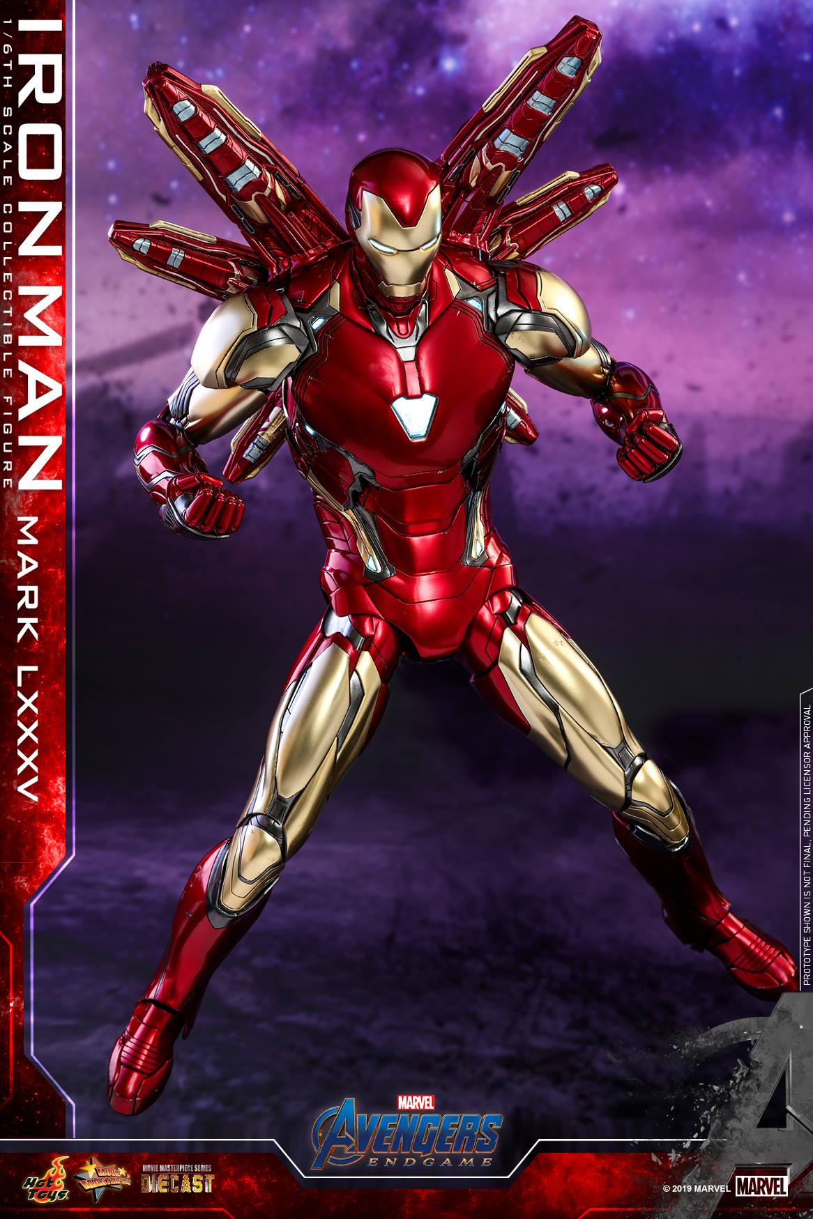 Pre-Order Hot Toys Marvel End Game Iron Man MK LXXXV Diecast