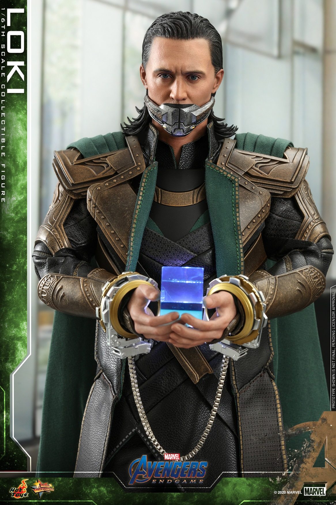 Pre-Order Hot Toys Marvel Loki End Game Sixth Scale