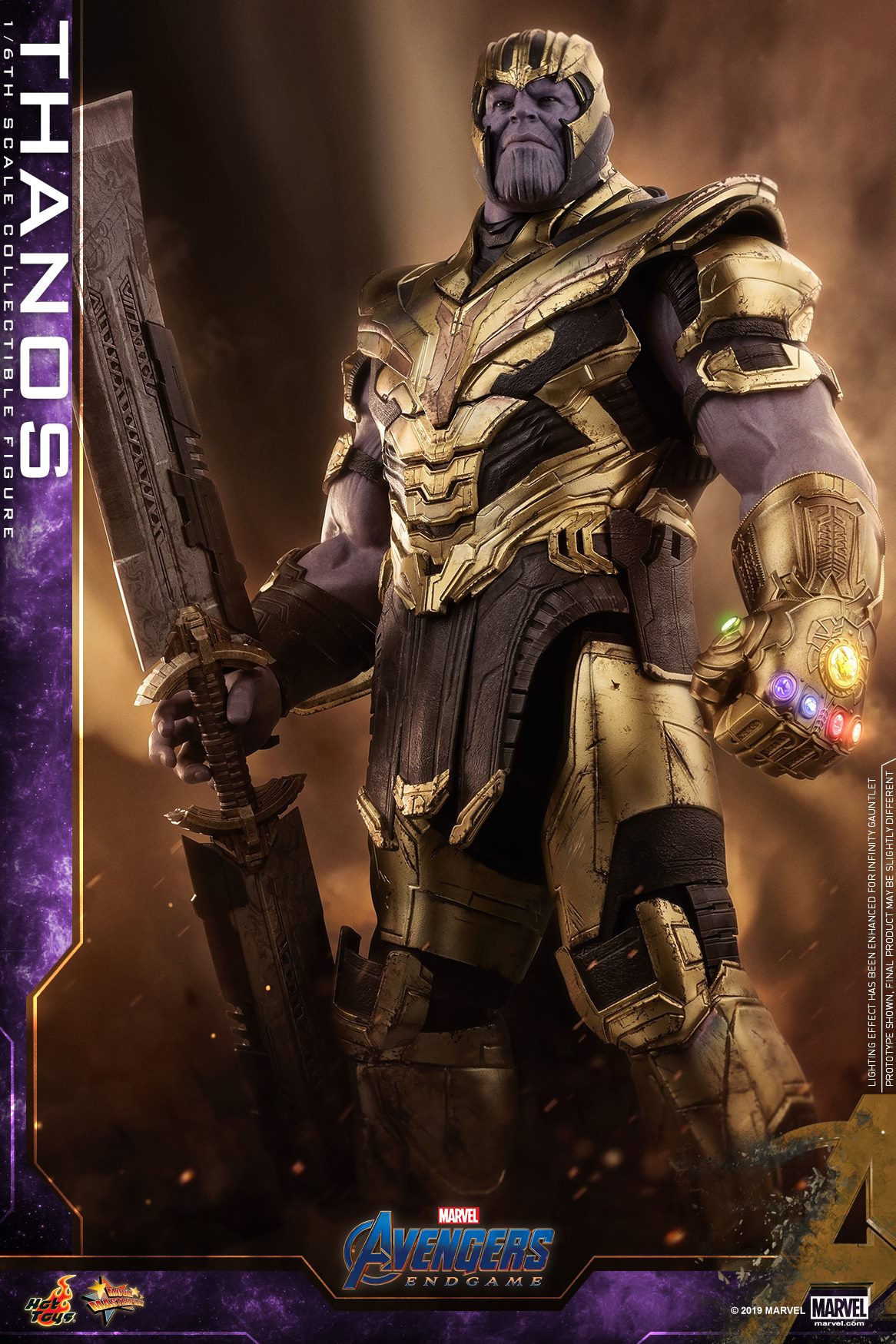 Pre-Order Hot Toys Marvel Avengers End Game Thanos Figure