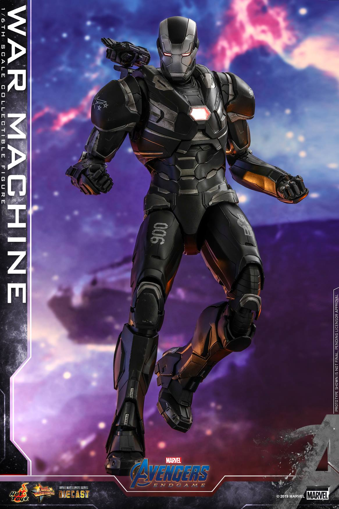 Pre-Order Hot Toys Marvel Avengers End Game War Machine Diecast