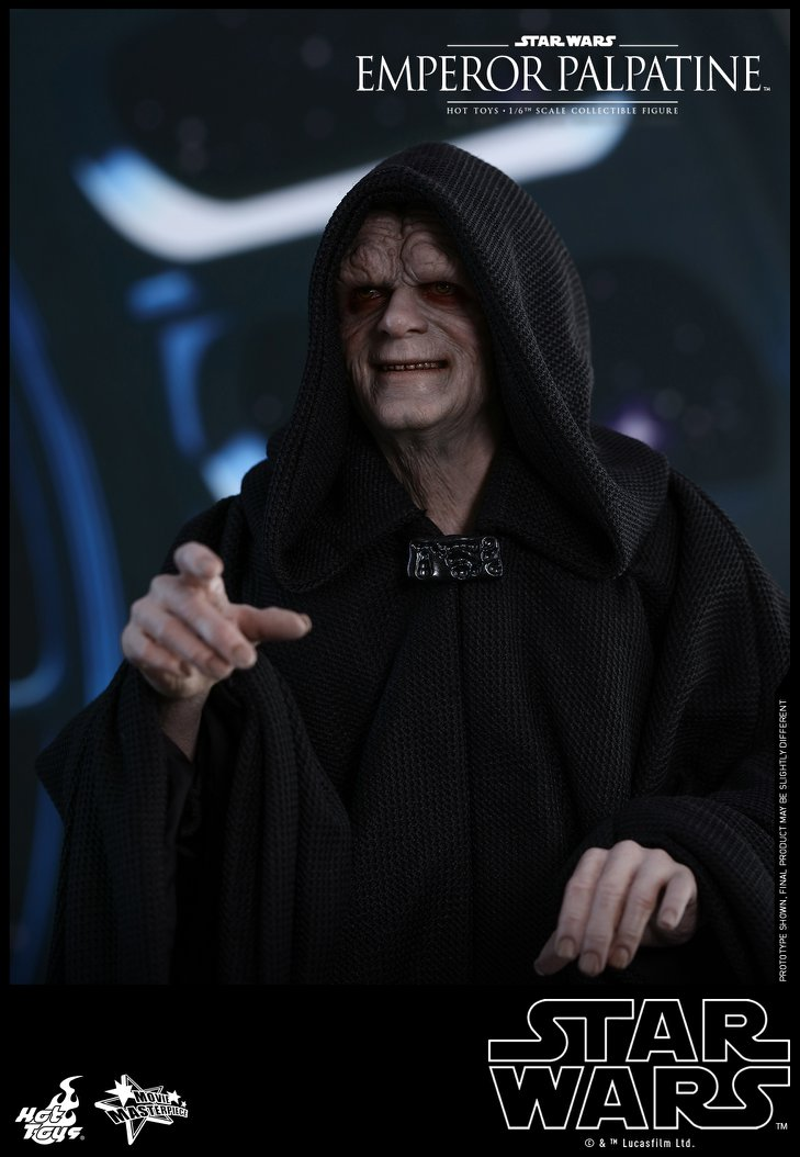 Pre-Order Hot Toys Star Wars Emperor Palpatine 1:6th Figure