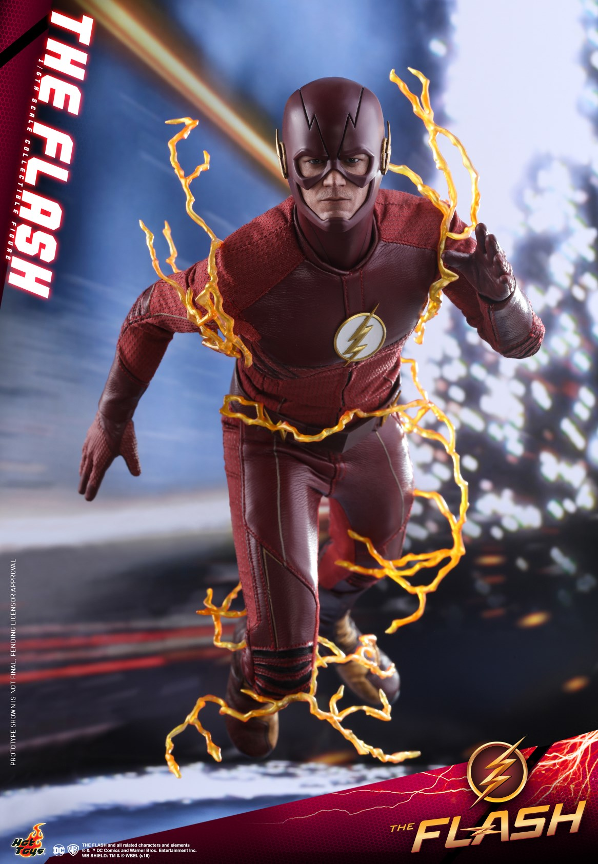 Pre-Order Hot Toys DC Comics Flash Television Series Sixth Scale