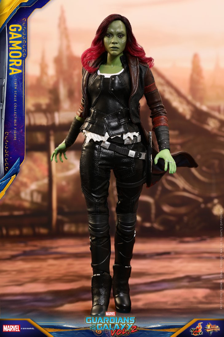 Pre-Order Hot Toys Marvel GotG 2 Gamora Sixth Scale Figure