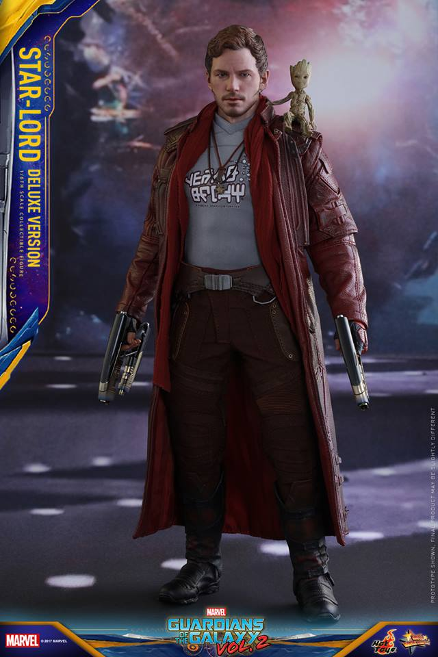 Pre-Order Hot Toys Marvel GotG 2 Star-Lord DLX 1:6th Figure
