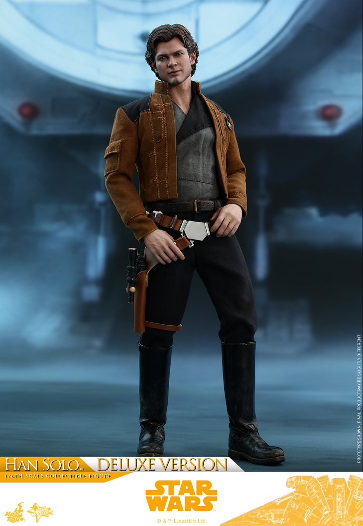 Pre-Order Hot Toys Star Wars Han Solo Deluxe Sixth Scale Figure