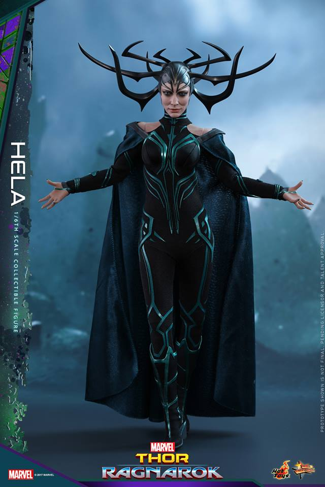 Hot Toys Marvel Thor Ragnarok Hela Figure