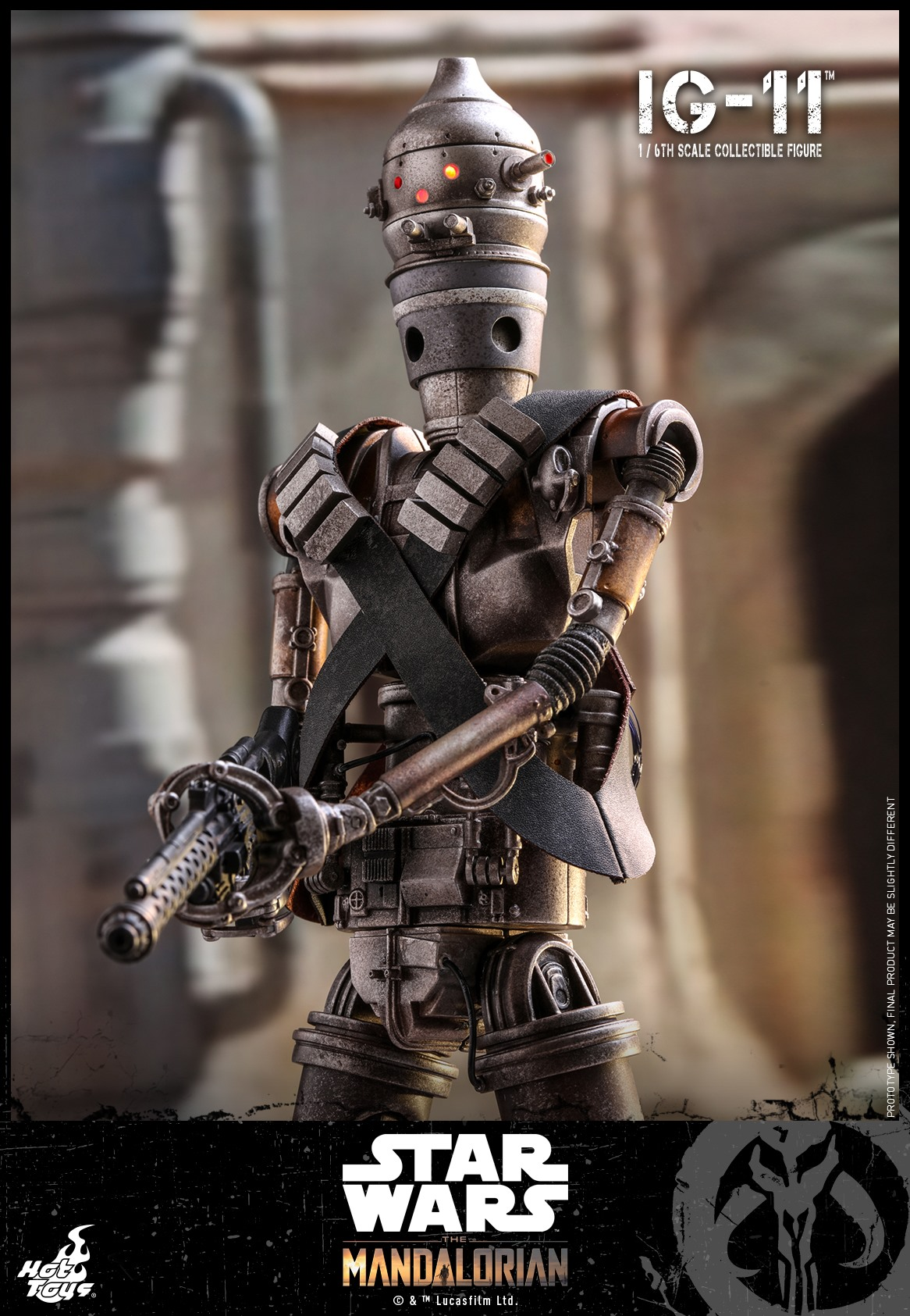 Pre-Order Hot Toys Star Wars IG-11 Sixth Scale Figure