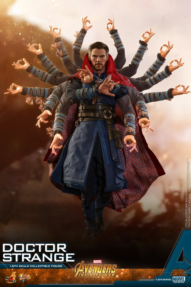 Hot Toys Marvel Avengers Infinity War Doctor Strange Figure