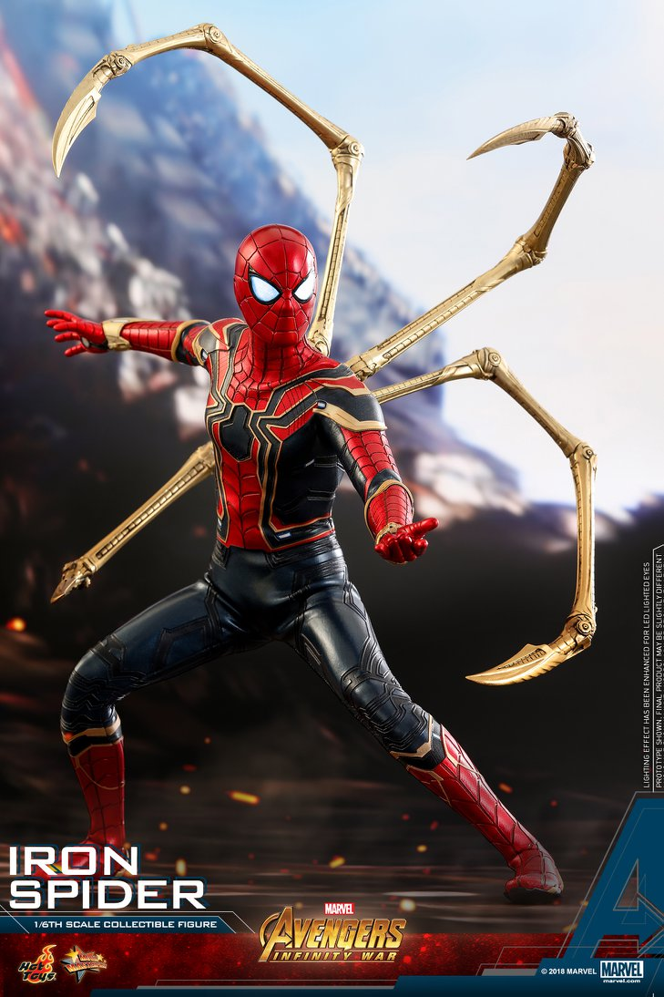 Hot Toys Marvel Avengers Infinity War Iron Spider 1:6th Figure