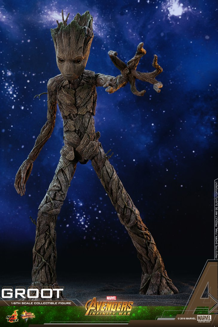 Hot Toys Marvel Avengers Infinity War Groot 1:6th Figure