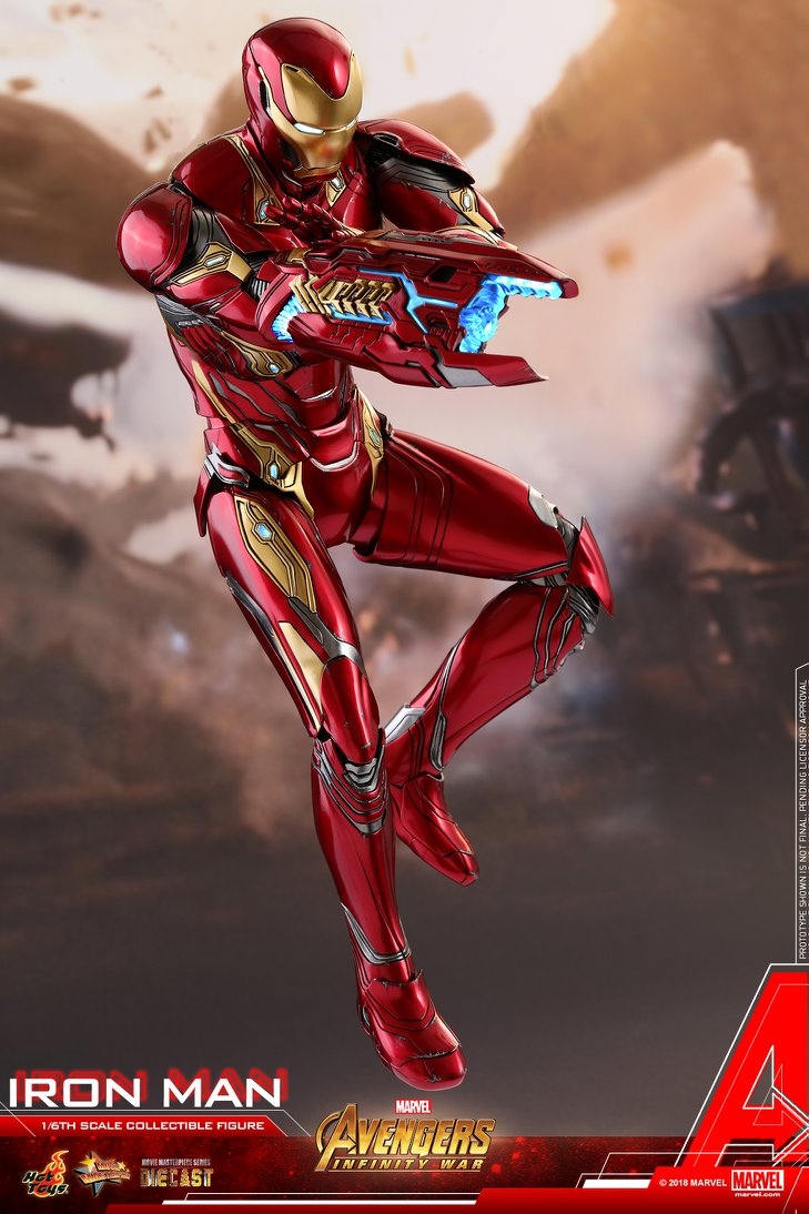 Hot Toys Marvel Avengers Infinity War Iron Man Diecast Figure