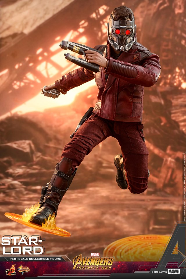 Pre-Order Hot Toys Marvel Avengers Infinity War Star-Lord Figure