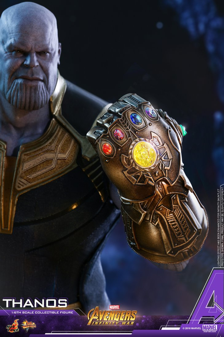 Hot Toys Marvel Avengers Infinity War Thanos Figure
