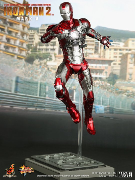 Hot Toys Iron Man Mark V 12 Inch Figure