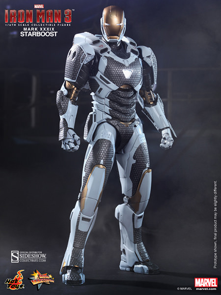 Hot Toys Marvel Iron Man Mark XXXIX Starboost Sixth Scale Figure