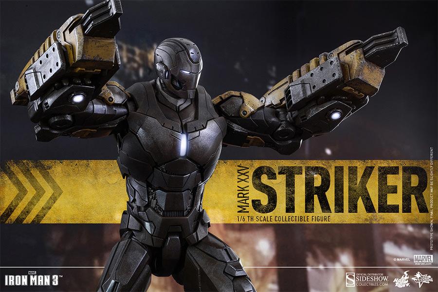 Hot Toys Marvel Iron Man Mark Xxv Striker Sixth Scale ...