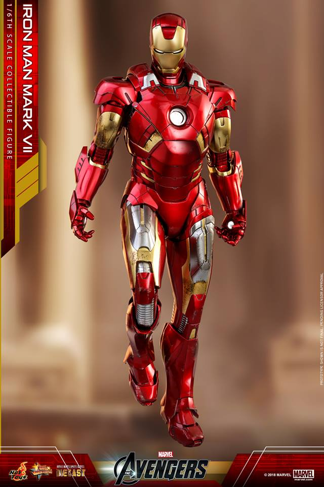 Pre-Order Hot Toys Marvel Iron Man MK VII Diecast Figure