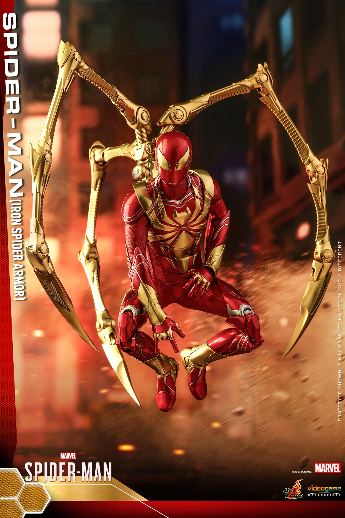 Pre-Order Hot Toys Marvel Spider-Man Iron Spider Armor Figure