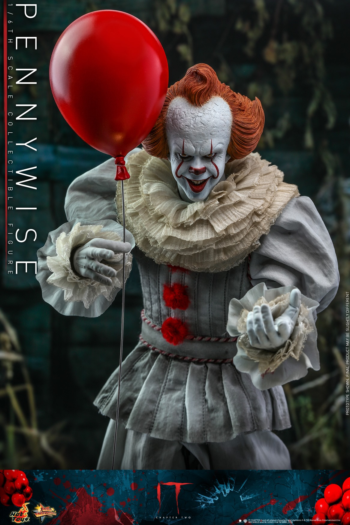 Pre-Order Hot Toys It Chapter 2 Pennywise Sixth Scale Figure